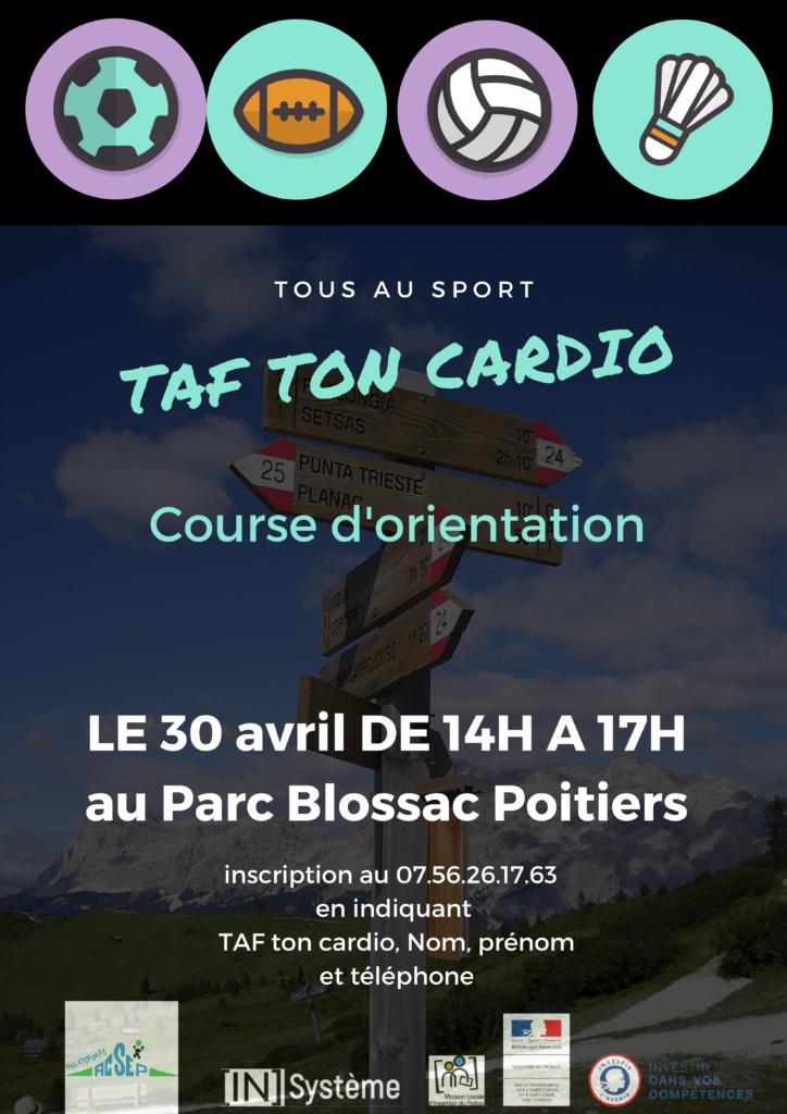 2021.04.30 Taf ton cardio - Aprem sport avec la Mission Locale - Course d'orientatio