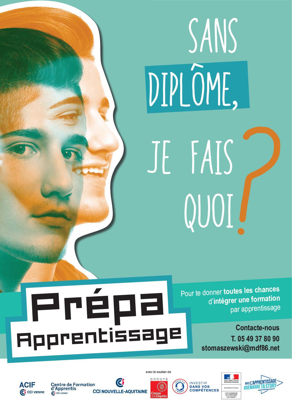 Prepa Apprentissage - Maison de la Formation ACIF - Vienne