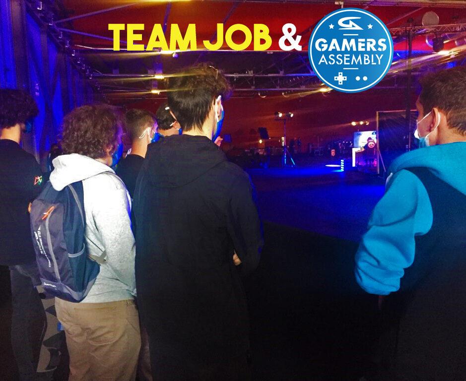 TEAM JOB - Les jeunes invités à l'événement national la Gamers Assembly