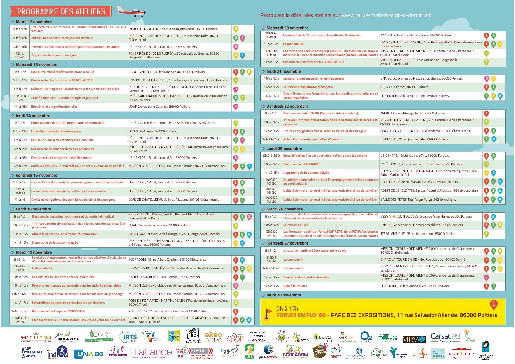 Programme Rallye Le Centre 2019 VIENNE