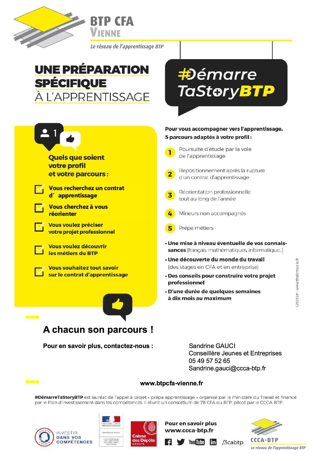 Prepa Apprentissage - BTP CFA - Vienne