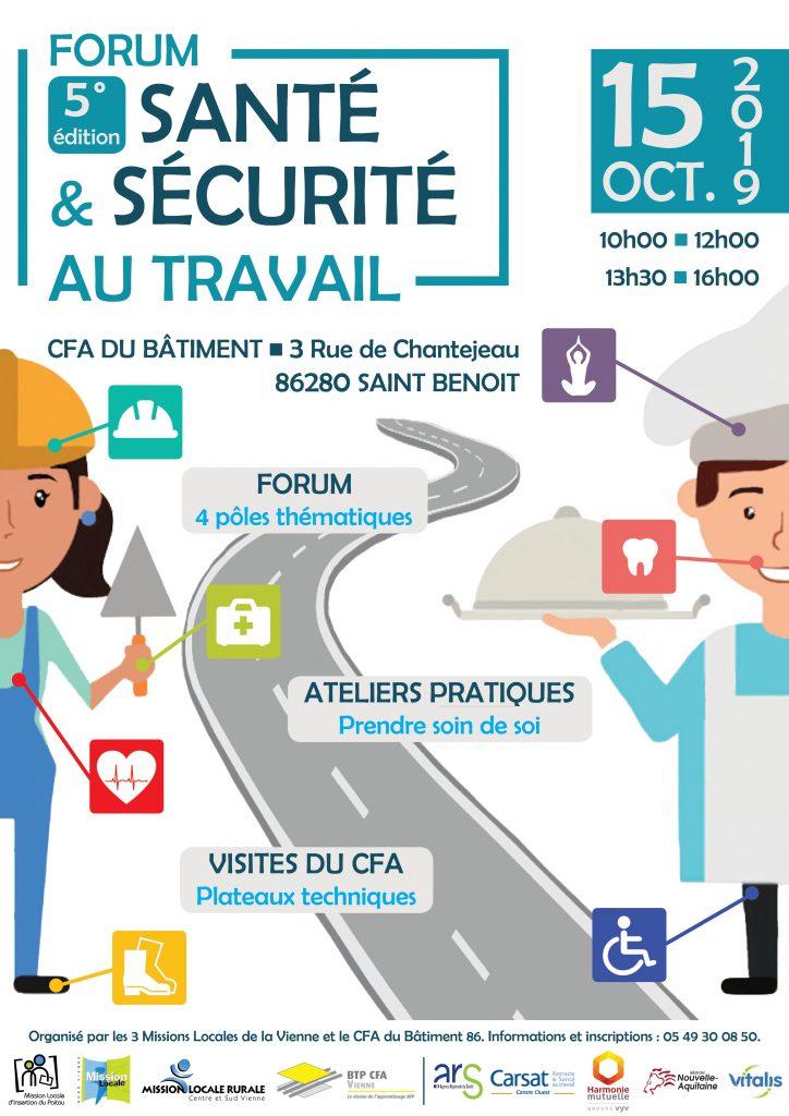 Forum Santé et Sécurité au Travail 15.10.19